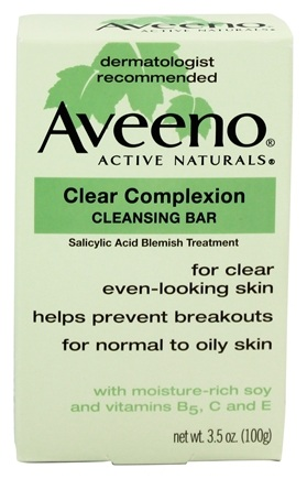 DROPPED: Aveeno - Active Naturals Clear Complexion Cleansing Bar - 3.5 oz.