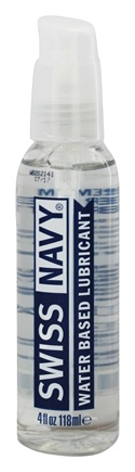 DROPPED: MD Science Lab - Swiss Navy Water Based Lubricant - 4 oz.