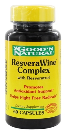 DROPPED: Good 'N Natural - ResveraWine Complex Natural Source of Resveratrol - 60 Capsules