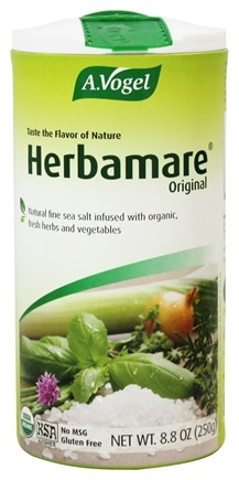 A.Vogel - Herbamare Original Organic Herb Seasoning Salt - 8.8 oz.