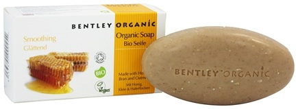 Bentley Organic - Bar Soap Smoothing With Honey Bran & Oatmeal - 5.3 oz.