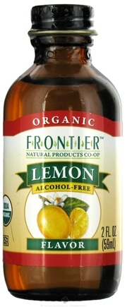 DROPPED: Frontier Natural Products - Organic Alcohol-Free Flavor Lemon - 2 oz.