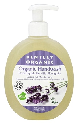 DROPPED: Bentley Organic - Liquid Handwash Calming & Nourishing With Lavender, Aloe & Jojoba - 8.4 oz.