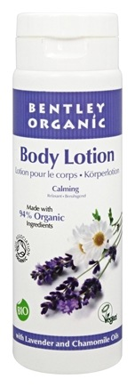 Bentley Organic - Calming Body Lotion with Lavender and Chamomile Oils - 8.4 oz.