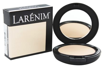 Larenim Mineral Make Up - Mineral Airbrush Pressed Foundation 3-NM - 0.3 oz.
