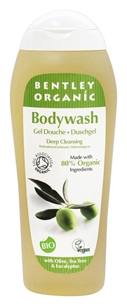 DROPPED: Bentley Organic - Bodywash Deep Cleansing 80% Organic With Olive, Tea Tree & Eucalyptus - 8.4 oz.