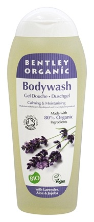 Bentley Organic - Bodywash Calming & Moisturising 80% Organic With Lavender Aloe & Jojoba  - 8.4 oz.
