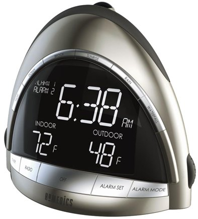 Zoom View - SoundSpa Premier AM/FM Clock Radio with Time/Temp Projection (SS-5010)