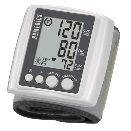 HoMedics - Automatic Wrist Blood Pressure Monitor Smart Measure Technology BPW-040