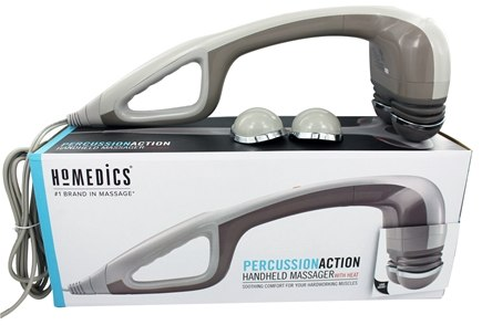 Zoom View - Extendable Percussion Massager with Heat HHP-350