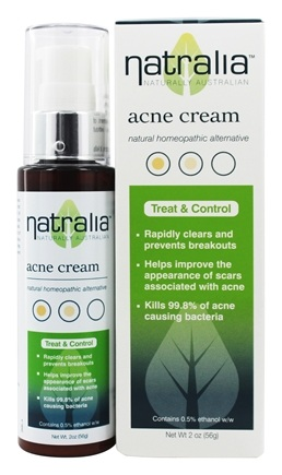 DROPPED: Natralia - Acne Rescue Cream - 2 oz.