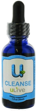 DROPPED: ULive - U-Cleanse Dietary Supplement - 1 oz. CLEARANCE PRICED