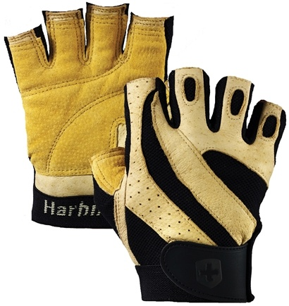 DROPPED: Harbinger - Pro Lifting Gloves - Large Natural - 1 Pair CLEARANCE PRICED