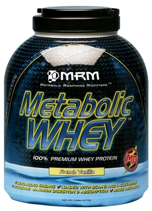 DROPPED: MRM - Metabolic Whey 100% Premium Whey Protein French Vanilla - 5 lbs.