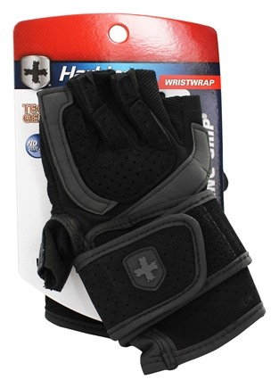 Zoom View - Training Grip WristWrap Lifting Gloves - Large