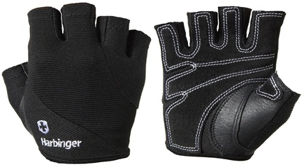 DROPPED: Harbinger - Women's Power Lifting Gloves- Large- Black - 1 Pair CLEARANCE PRICED