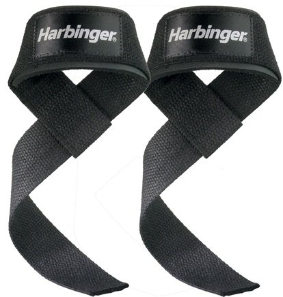 DROPPED: Harbinger - Padded Lifting Straps
