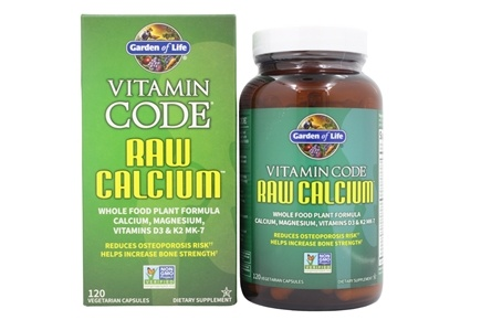 Buy Garden of Life Vitamin Code RAW Calcium 120 Vegetarian
