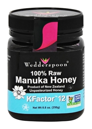 DROPPED: Wedderspoon - 100% Raw Manuka Honey KFactor 12 - 8.8 oz.