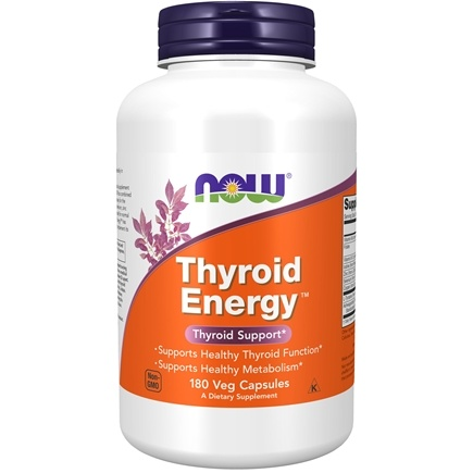 NOW Foods - Thyroid Energy - 180 Vegetarian Capsules