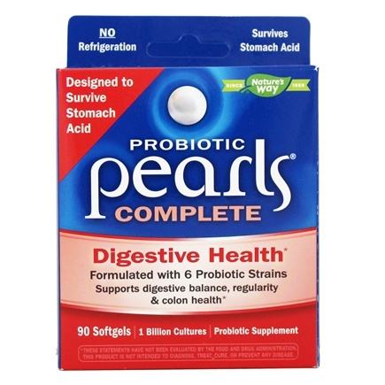 Enzymatic Therapy - Probiotic Pearls Complete - 90 Softgels Formerly Pearls IC