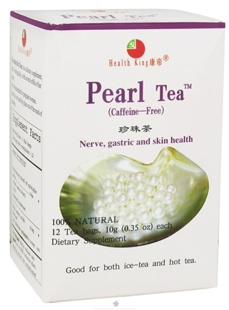 DROPPED: Health King - Pearl Herb Tea - 12 Tea Bags CLEARANCE PRICED