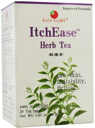 DROPPED: Health King - ItchEase Herb Tea - 20 Tea Bags
