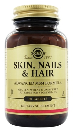 Zoom View - Skin Nails & Hair Advanced MSM Formula
