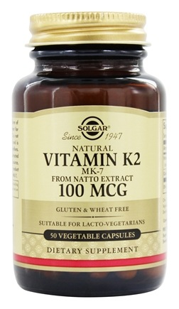 Zoom View - Natural Vitamin K2 MK-7 From Natto Extract