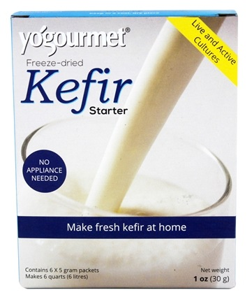 Yogourmet - Freeze-Dried Kefir Starter - 1 oz.