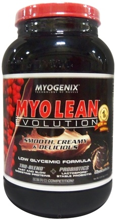 DROPPED: Myogenix - Myo Lean Evolution Chocolate - 2.38 lbs. CLEARANCE PRICED
