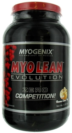 DROPPED: Myogenix - Myo Lean Evolution Banana Creme Pie - 2.38 lbs. CLEARANCE PRICED