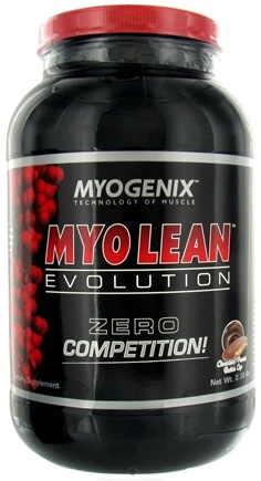 DROPPED: Myogenix - Myo Lean Evolution Chocolate Peanut Butter Cup - 2.38 lbs. CLEARANCE PRICED