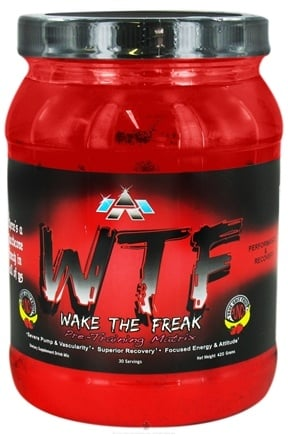 DROPPED: ALRI - WTF Wake The Freak Pre-Training Matrix True Grit Fruit Punch - 420 Grams CLEARANCE PRICED