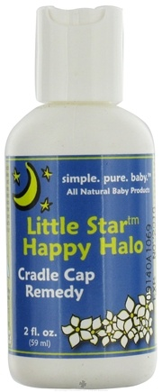 DROPPED: Seaside Naturals - Little Star Happy Halo Cradle Cap Remedy - 2 oz.