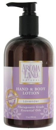 Zoom View - Natural Hand & Body Lotion Lavender