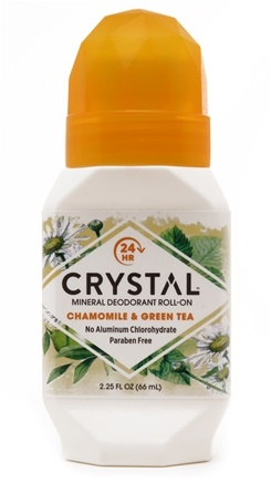 Zoom View - Crystal Essence Mineral Deodorant Roll On By French Transit