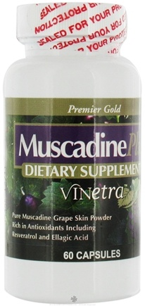 DROPPED: Muscadine Naturals - Muscadine Plus Vinetra - 60 Capsules CLEARANCE PRICED