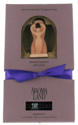 DROPPED: AromaLand - Aromatherapy Diffuser Goddess With Goddess Spirit Essential Oil Blend