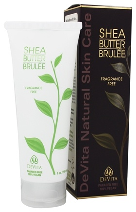 Devita Natural Skin Care Shea Butter Hand And Body Brulee