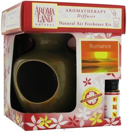 DROPPED: AromaLand - Aromatherapy Diffuser Natural Air Freshener Kit Eve Agate Romance Blend - CLEARANCE PRICED