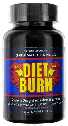 DROPPED: NutraStar Laboratories - Diet Burn Pure Ephedra Extract - 120 Capsules UNPUBLISHED