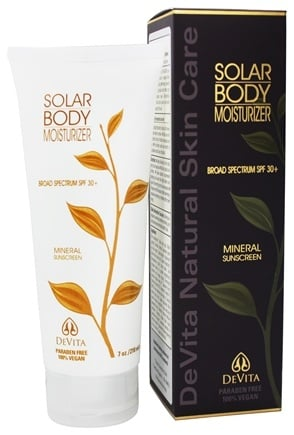 DeVita - Natural Skin Care Solar Body Moisturizer 30 SPF - 7 oz.