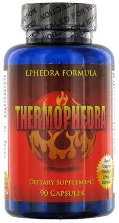 DROPPED: Fusion Health Products - Thermophedra - 90 Capsules CLEARANCE PRICED