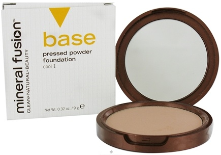 DROPPED: Mineral Fusion - Base Pressed Powder Foundation Cool 1 - 0.32 oz. CLEARANCE PRICED