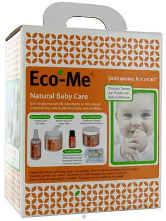 DROPPED: Eco-Me - Natural Baby Care Starter Kit - 1.95 lbs. CLEARANCE PRICED