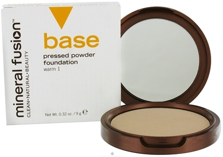 DROPPED: Mineral Fusion - Base Pressed Powder Foundation Warm 1 - 0.32 oz. CLEARANCE PRICED