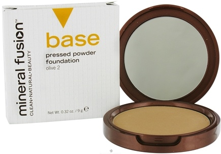 DROPPED: Mineral Fusion - Base Pressed Powder Foundation Olive 2 - 0.32 oz. CLEARANCE PRICED