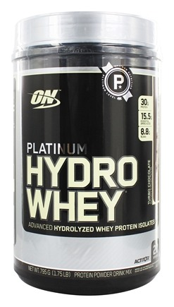 DROPPED: Optimum Nutrition - Platinum Hydro Whey Advanced Hydrolyzed Whey Protein Turbo Chocolate - 1.75 lbs.