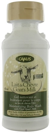 DROPPED: Canus - Goat's Milk Moisturizing Body Wash with Olive Oil and Wheat Protein - 16 oz. CLEARANCE PRICED